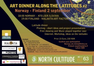 Artdinner along the latitudes #2
