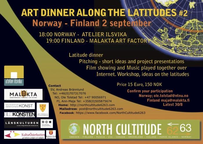 Art Dinner along the Latitudes #2