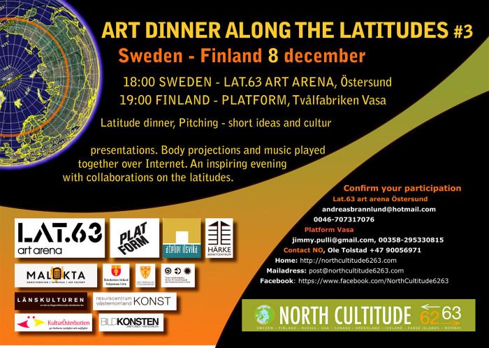 Art Dinner along the Latetudes #3
