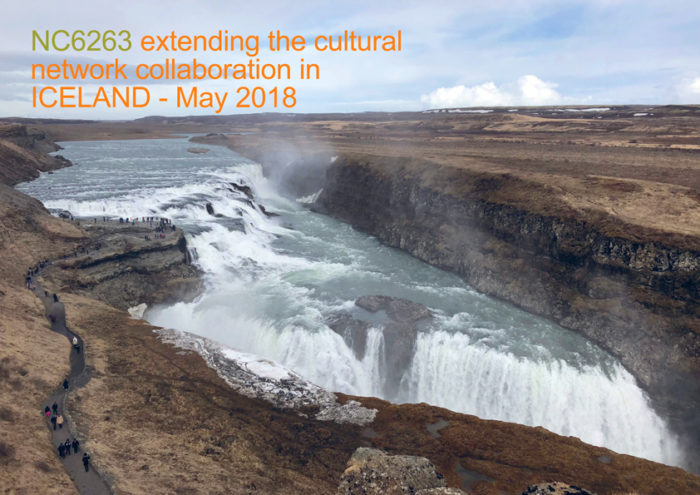 NC6263 extending the cultural network collaboration with Iceland – May 2018