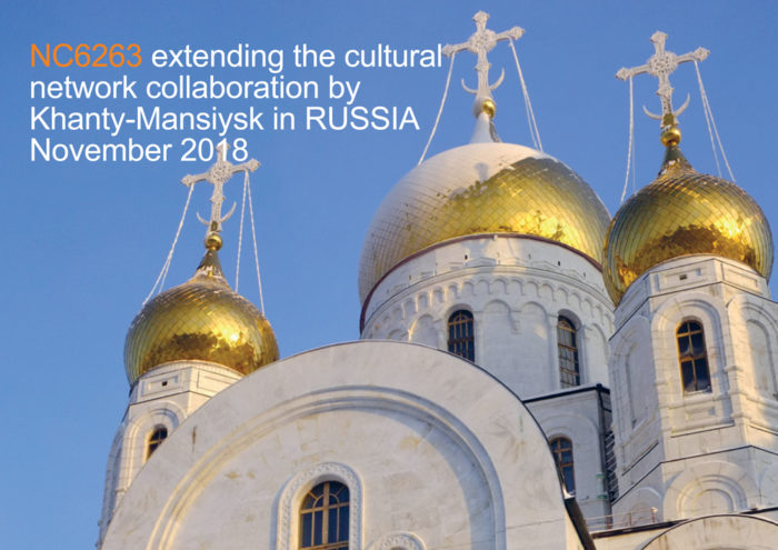 NC6263 extending the cultural network collaboration by Khanty-Mansiysk in Russia november 2018